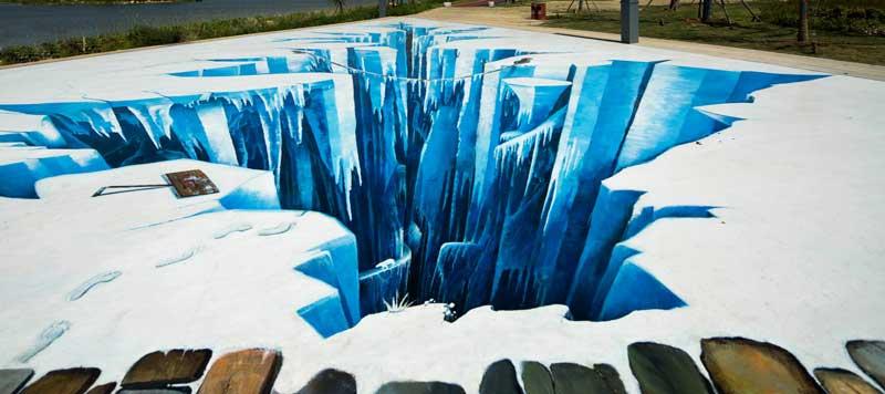 宿迁3d冰川_上海墙绘,上海手绘墙